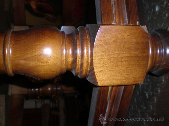 Antigüedades: mesa de centro baja con sobre de cobre - Foto 4 - 25971125