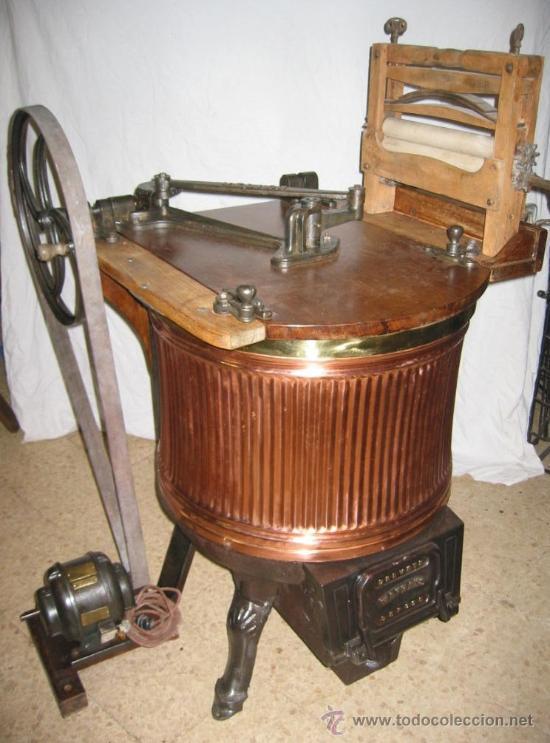 Espectacular lavadora antigua de cobre comprar - Fotos de lavadoras ...