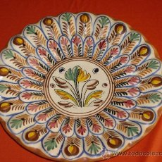Antigüedades: PLATO DE CERAMICA- SANGUINO. Lote 27526207