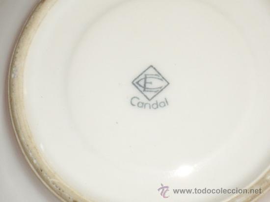 Antigüedades: SOPERA O SALSERA CANDAL - Foto 3 - 27526210