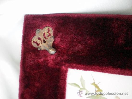Antigüedades: Baldosa firmada y pintada a mano S XIX: Rosas - Foto 5 - 26047371