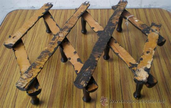 Antigüedades: PERCHERO DE PARED ... de madera - Foto 5 - 27322617