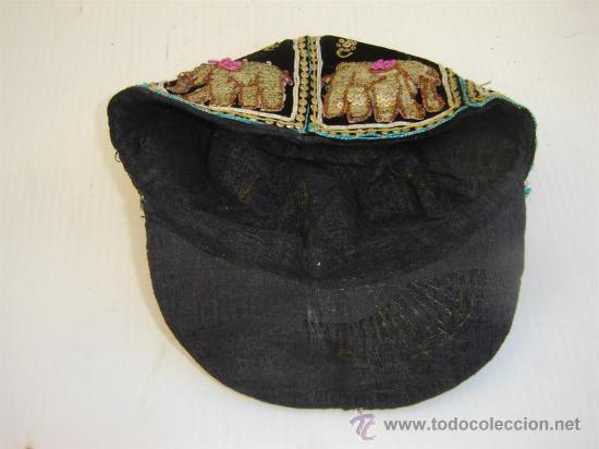 Antigüedades: gorra bordadas con lentejuelas - Foto 3 - 26054973