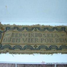 Antigüedades: PEQUEÑA ALFOMBRA. Lote 26063892