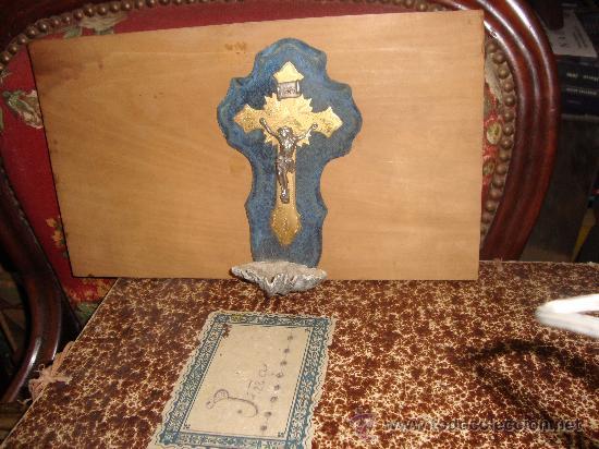 ANTIGUA PILA BENDITERA A CLASIFICAR MEDIDAS: 19 CTMS. (Antigüedades - Religiosas - Benditeras)