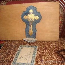 Antigüedades: ANTIGUA PILA BENDITERA A CLASIFICAR MEDIDAS: 19 CTMS.. Lote 26107439