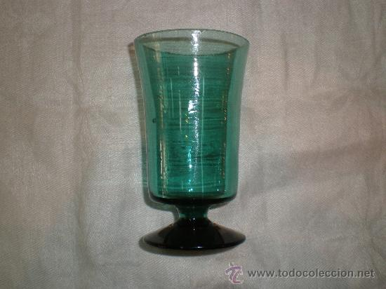 COPA DE VIDRIO DE GUARDIOLA (Antigüedades - Cristal y Vidrio - Otros)