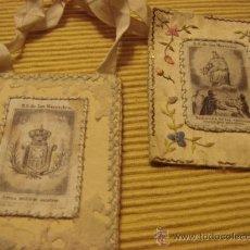 Antigüedades: ANTIGUO ESCAPULARIO N S DE LAS MERCEDES. Lote 26960275