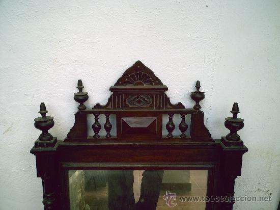 Antigüedades: Espejo Alfonsino del 1920 - Foto 2 - 27434229