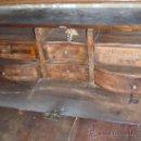 Antigüedades: ESCUCHO OFERTAS CANTERANO CATALAN PRICIPIOS XVIII NOGAL CON MARQUETERIA DE BOJ Y LIMONERO ESCRITORIO. Lote 26206168