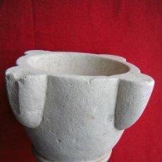 Antigüedades: ANTIGUO MORTERO DE PIEDRA. Lote 26262964