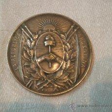 Antigüedades: MEDALLA LA REPUBLICA ARGENTINA. Lote 26390933