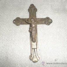 Antigüedades: CRUZ DE METAL. Lote 26391135