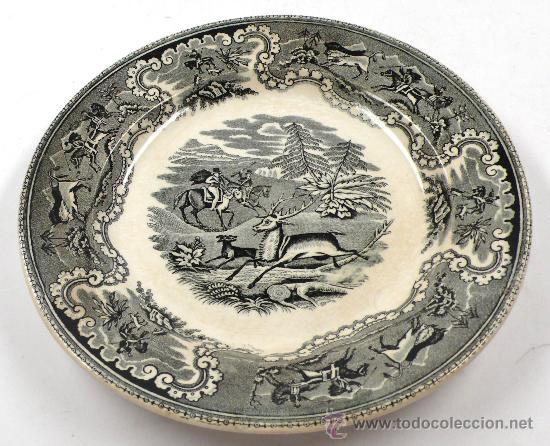 Antigüedades: 4 platos de Cartagena, tamaño: 22 cm de diámetro, . - Foto 2 - 26384684