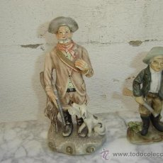 Antigüedades: 2 FIGURAS DE TERRACOTA. Lote 26390340