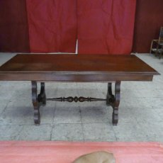 Antigüedades: MESA PATA LIRA. Lote 26391457