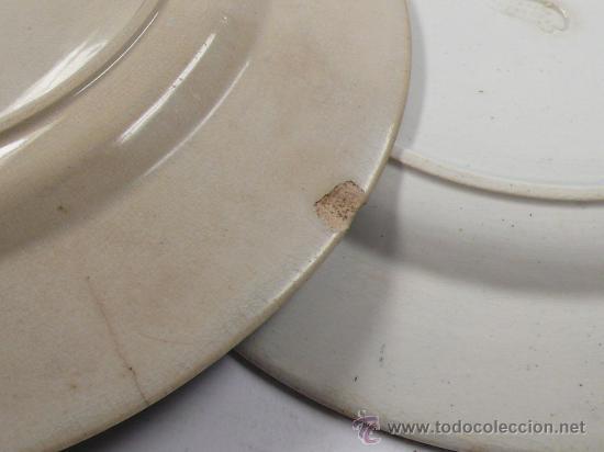 Antigüedades: 4 platos de Cartagena, tamaño: 22 cm de diámetro, . - Foto 8 - 26384684