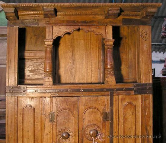 antigedades mueble aparador de cocina enorme foto 2 26528537