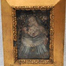 Antigüedades: INTERESANTE RELICARIO DE LA PIEDAD DEL SIGLO XVIII. Lote 28241281
