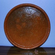 Antigüedades: PLATO DE BARRO DE PERERUELA (ZAMORA). Lote 26573771