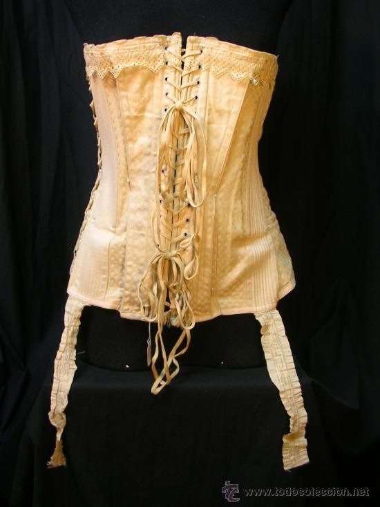 Antiguo corset de los años 20-30 - Vendido en Venta