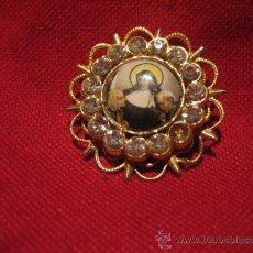 Antigüedades: BONITO BROCHE CON LA IMAGEN DE SANTA TERESA DE JESUS . Lote 26591930