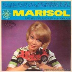 Discos de vinilo: MARISOL - EL COCHECITO / CABRIOLA... 1965. Lote 26614625