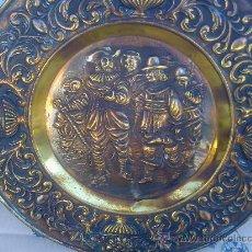 Antigüedades: PLATO DE COBRE. Lote 26620596