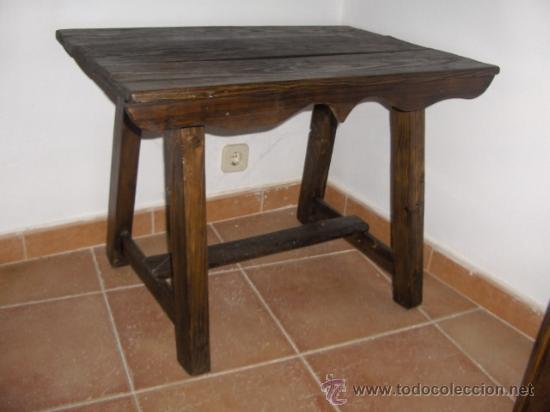 Antigua mesa tocinera restaurada comprar mesas antiguas for Mesas antiguas
