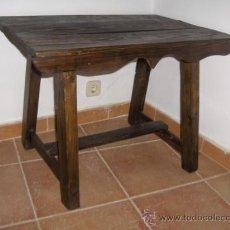 Antigüedades: ANTIGUA MESA TOCINERA, RESTAURADA. Lote 26623061