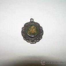 Antigüedades: MUY ANTIGUA MEDALLA - ESCAPULARIO..... DE PLATA.. Lote 26691475