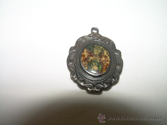 Antigüedades: MUY ANTIGUA MEDALLA - ESCAPULARIO..... DE PLATA. - Foto 2 - 26691475