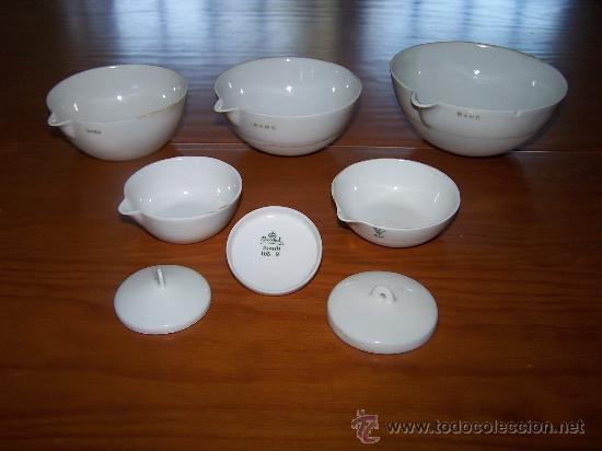 juego capsulas de porcelana de laboratorio muy - Comprar Botijos ...