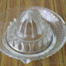 Antigüedades: ESPRIMIDOR DE CRISTAL. Lote 26732236