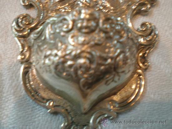 Antigüedades: pila de agua bendita de plata - Foto 3 - 26844335