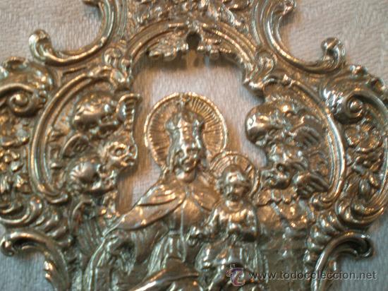 Antigüedades: pila de agua bendita de plata - Foto 2 - 26844335