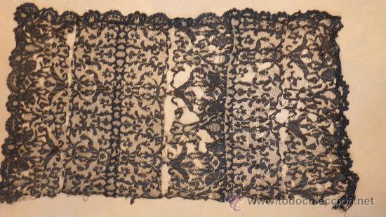 Antigüedades: Lote de 5 mantillas antiguas de pp. s.XX. - Foto 2 - 87092412