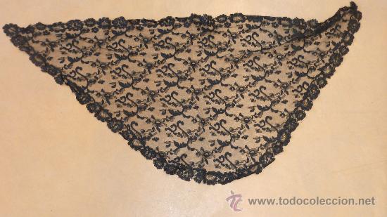 Antigüedades: Lote de 5 mantillas antiguas de pp. s.XX. - Foto 4 - 87092412