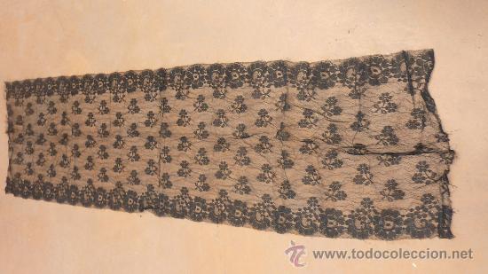 Antigüedades: Lote de 5 mantillas antiguas de pp. s.XX. - Foto 6 - 87092412