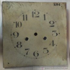 Antigüedades: PANTALLA DE RELOJ DE PARED,DE 20 X 20 CMS.. Lote 26866417