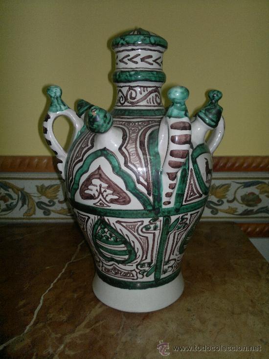 PUNTER BOTIJO TERRUEL (Antigüedades - Porcelanas y Cerámicas - Teruel)