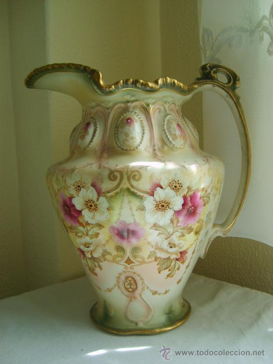 Jarra porcelana inglesa antigua gran tama o c comprar - Porcelana inglesa antigua ...