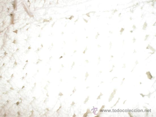 Antigüedades: cubrecama o colcha ganchillo - Foto 5 - 27027150