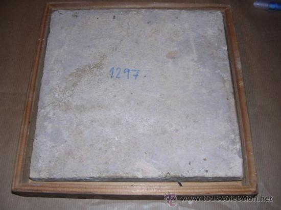 Antigüedades: AZULEJO DE MANISES ANTIGUO S. XIX SERIE PAISAJES, (ROTURAS VER FOTO) ORIGINAL DE LA EPOCA NO REPRODU - Foto 3 - 27044077