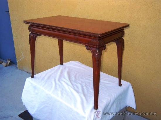 Mesita de centro de estilo en madera maciza comprar mesas antiguas en todocoleccion 32508866 - Mesita de centro ...