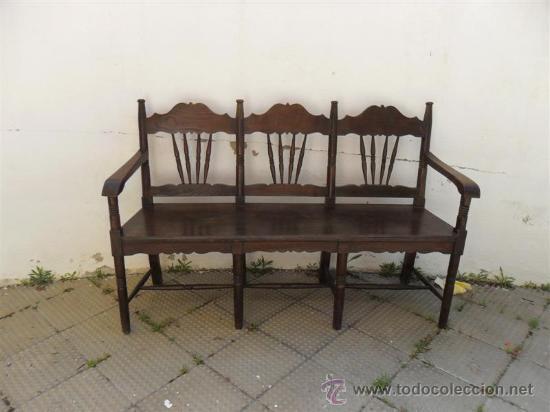 Sillon rustico de madera de casta o comprar sillones for Sillones rusticos de madera