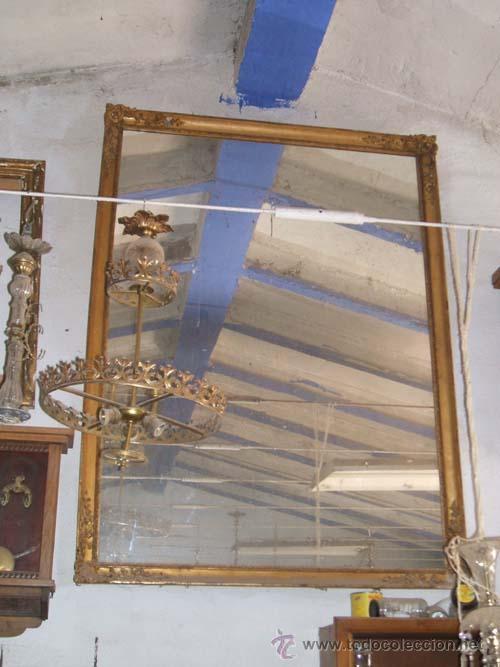 Magnifico espejo neocl sico de grandes dimensi comprar - Espejos antiguos grandes ...