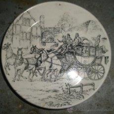Antigüedades: PLATO DE 11,5 CMS. DE DIÁMETRO. SAN CLAUDIO.. Lote 27146343