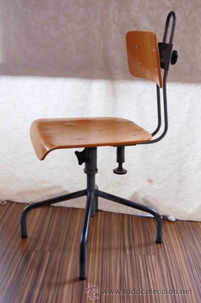 Dise o industrial autentica silla de los a 0s 5 comprar for Antiguedades de oficina