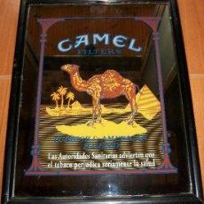 Antigüedades - ESPEJO PUBLICIDAD CAMEL - 49 X 38 CMS - 27153536
